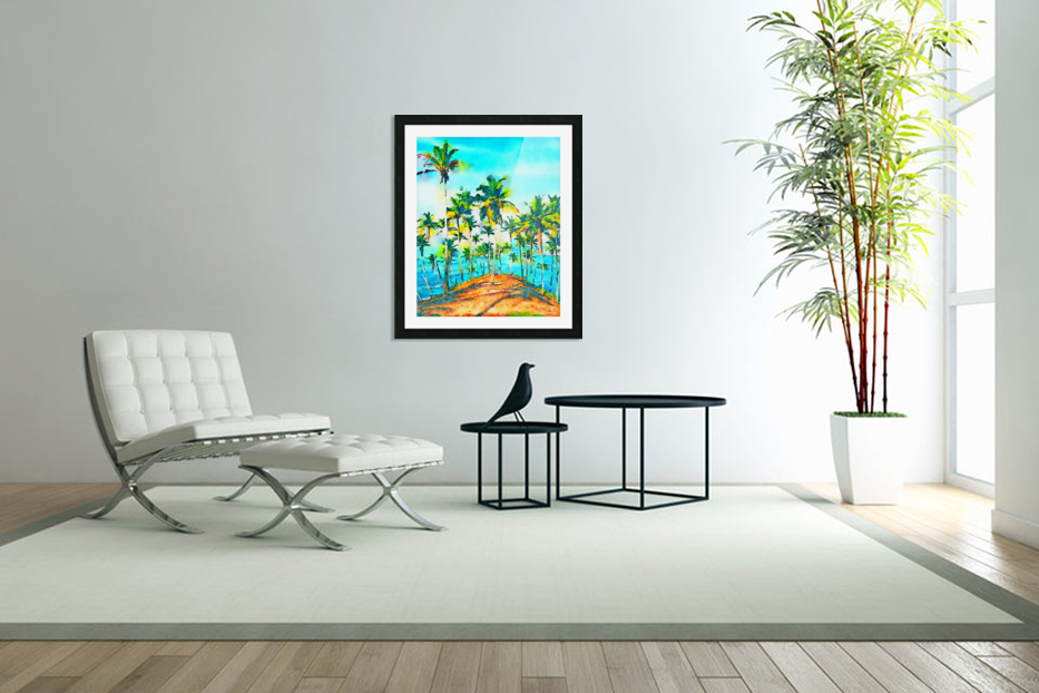 Seas the Day in Custom Picture Frame