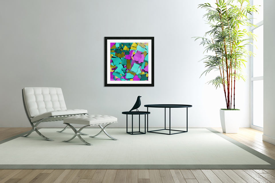 abstract flow art in Custom Picture Frame