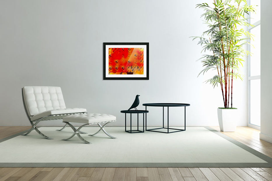 Nature The  Art of Blushing in Custom Picture Frame