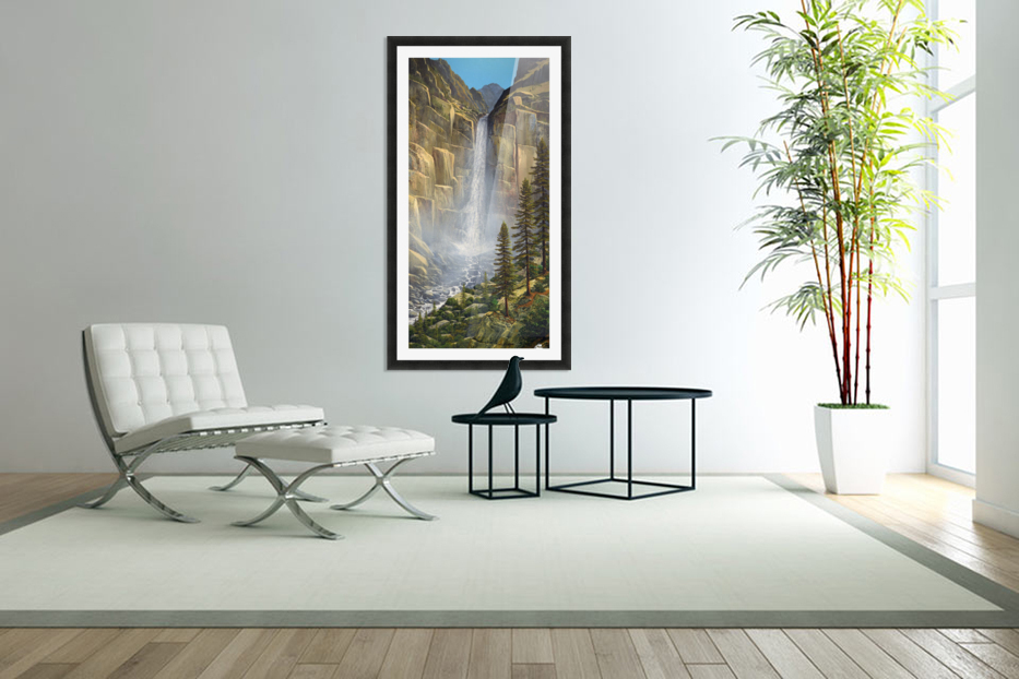 Great Falls in Custom Picture Frame