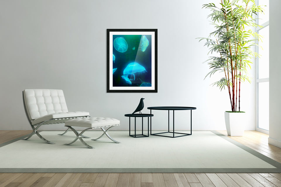 Venture into the Abyss in Custom Picture Frame