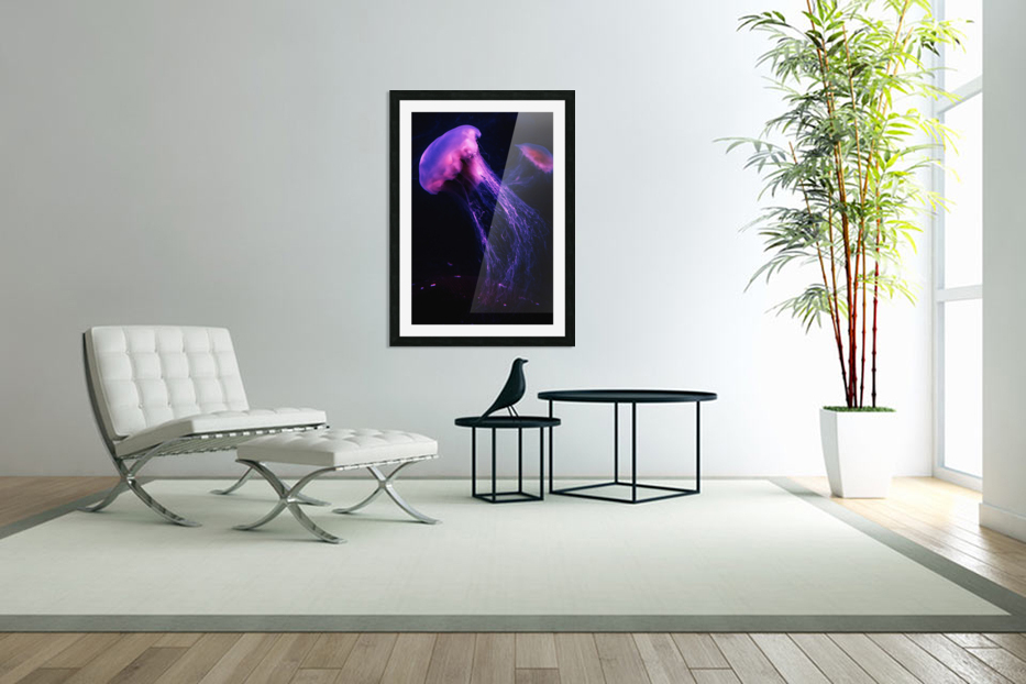 Neon Jelly in Custom Picture Frame