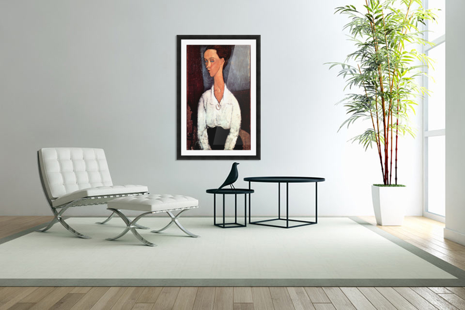 Modigliani - Portrait in Custom Picture Frame