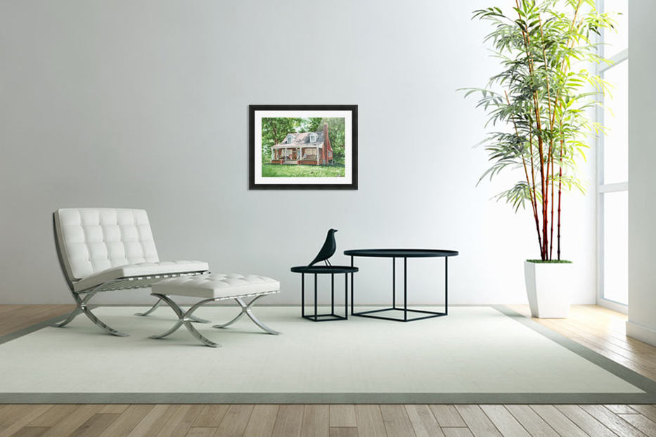 East Coast Summer in Custom Picture Frame