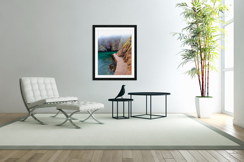 SEASIDE PATH in Custom Picture Frame