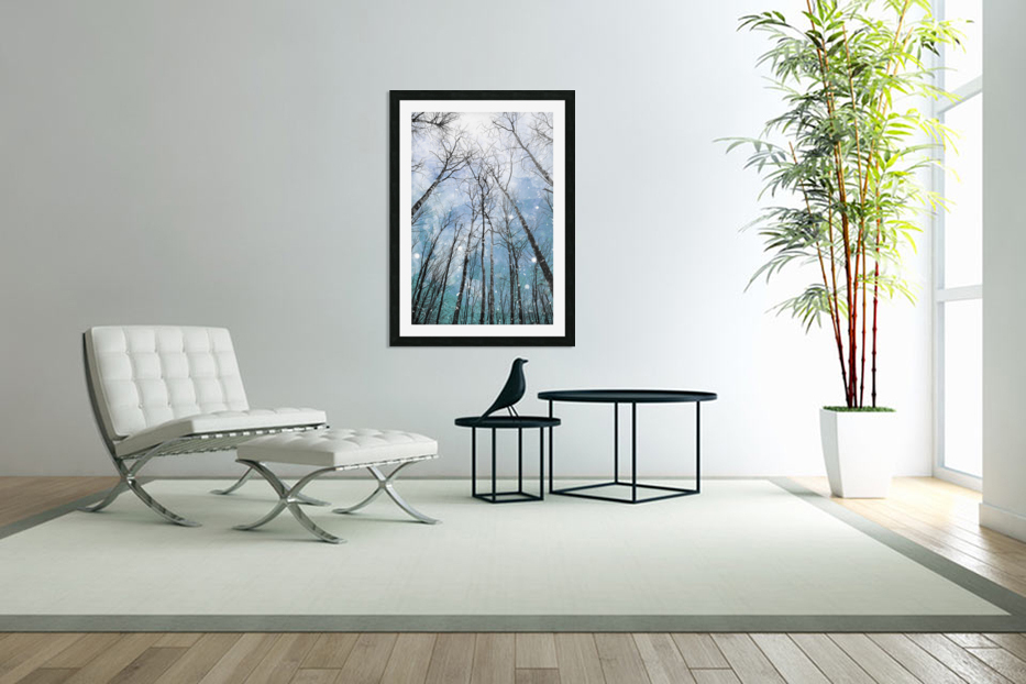 Winter Trees  in Custom Picture Frame