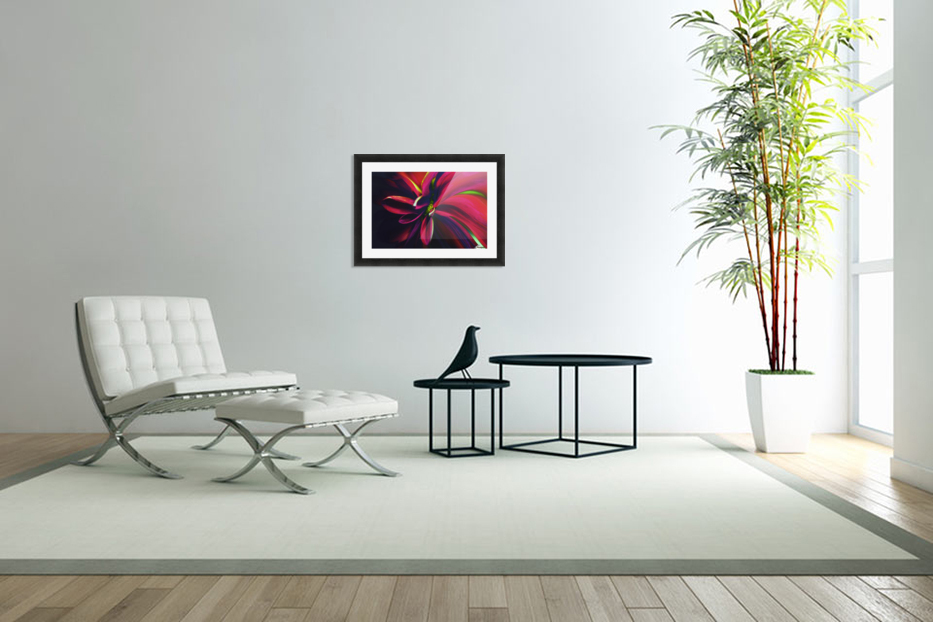 Reaching in Custom Picture Frame
