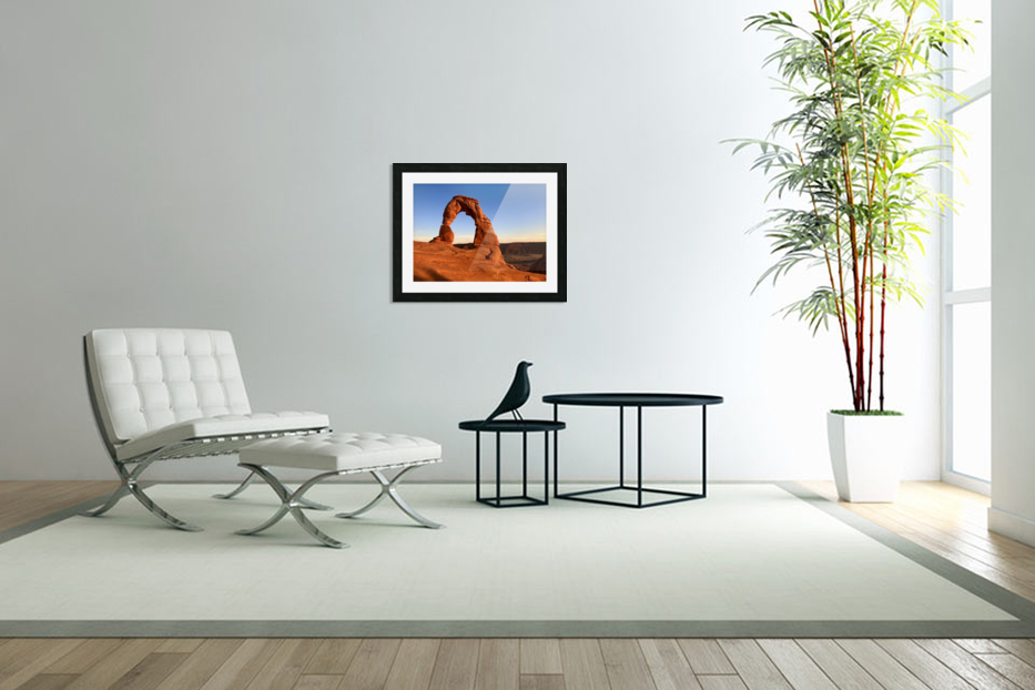 Delicate Arch in Custom Picture Frame