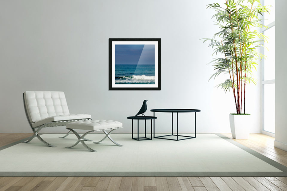 Sailing in Custom Picture Frame