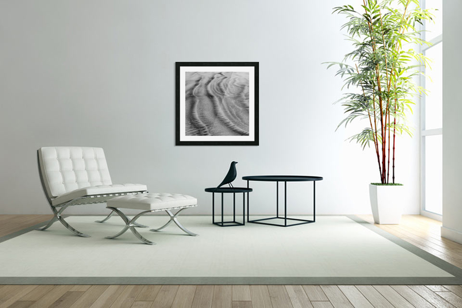 Sandy Waves in Custom Picture Frame