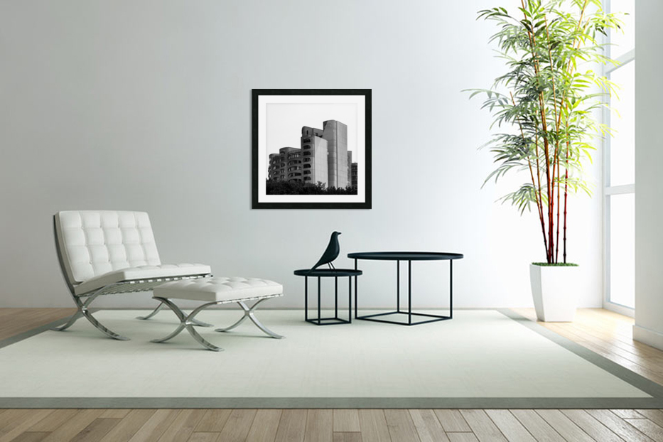 Architect in Custom Picture Frame