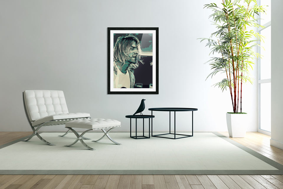 Kurt_Cobain_31 in Custom Picture Frame