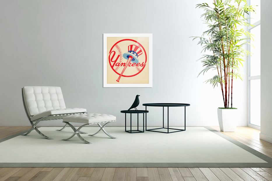 1950s New York Yankees in Custom Picture Frame
