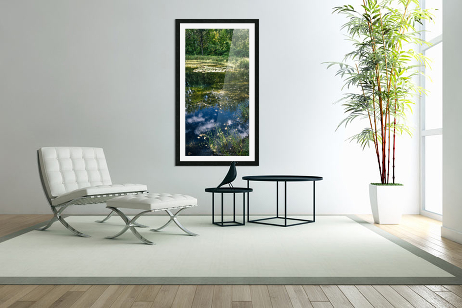 Monet style 2 in Custom Picture Frame