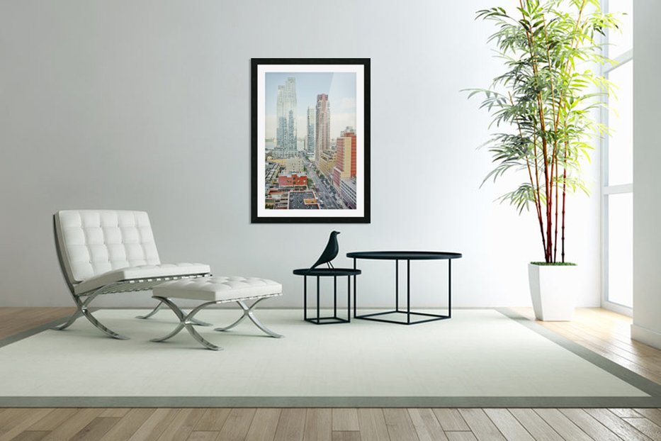 Architectural image of Hells kitchen Manhatten New york USA 2011 in Custom Picture Frame