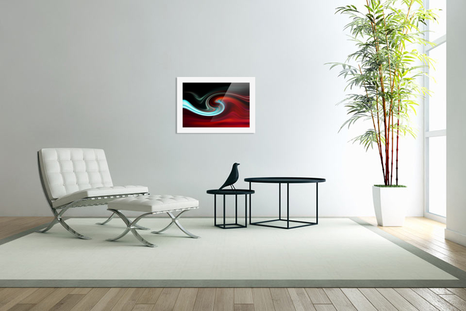 LAVA WAVE 2 in Custom Picture Frame