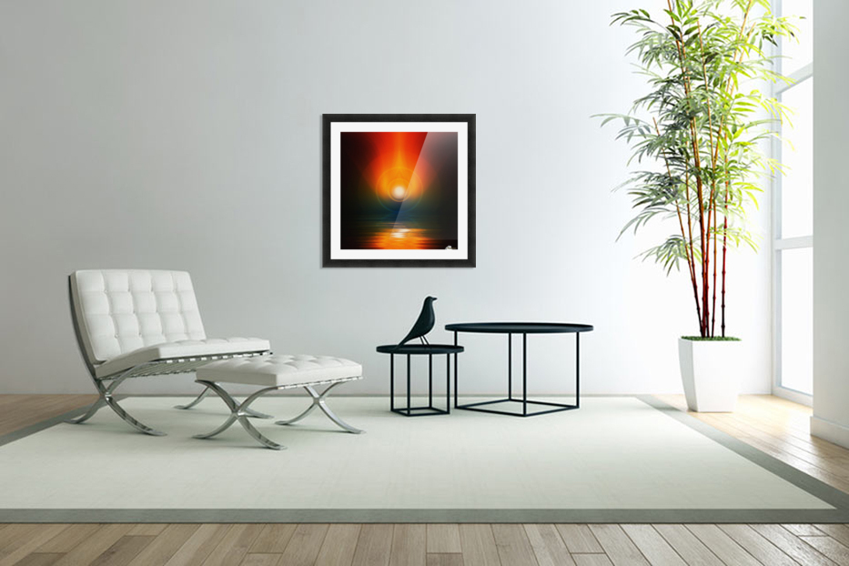 Life energy in Custom Picture Frame