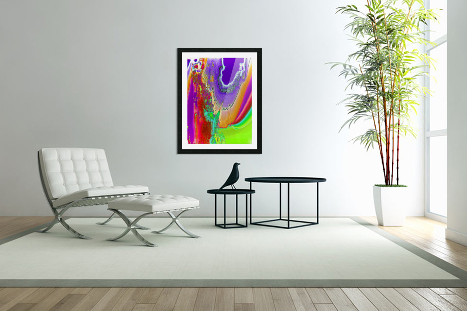 Sacred colors in Custom Picture Frame