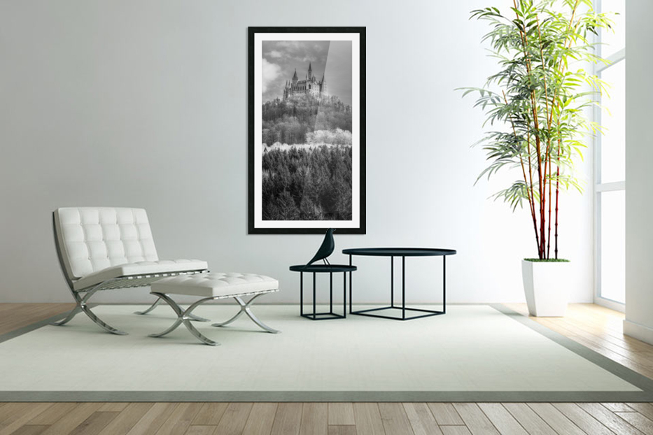 Hohenzollern Castle, Germany in Custom Picture Frame