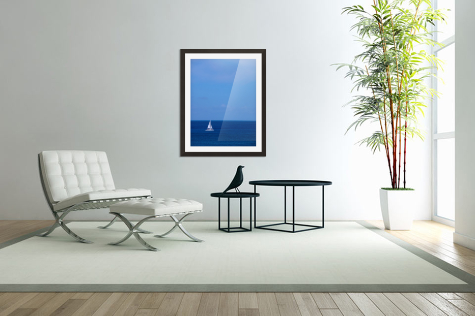Blue Day in Custom Picture Frame