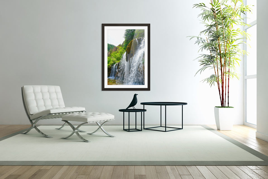 Wild Back Country in Custom Picture Frame