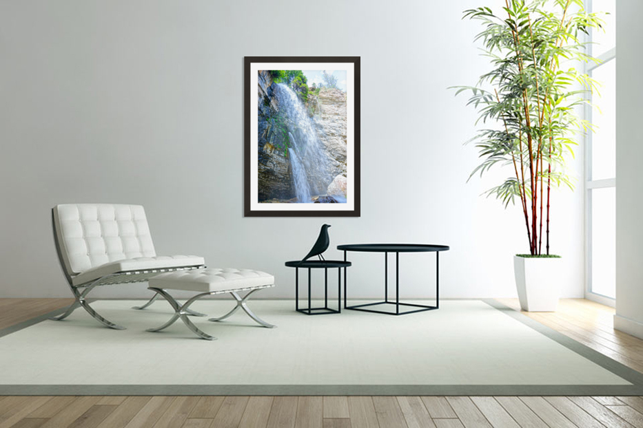 Canyon in Custom Picture Frame