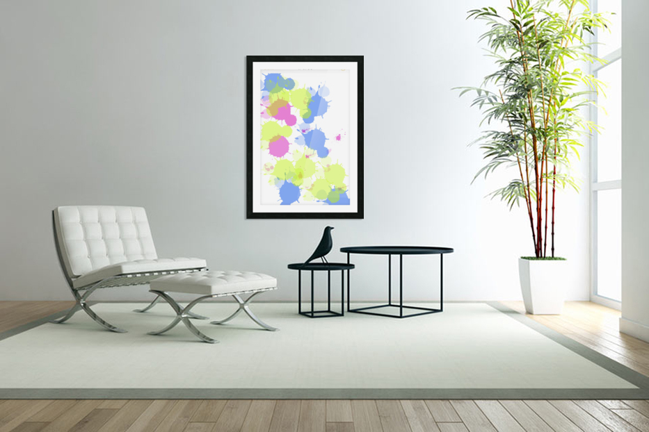Cotton candy in Custom Picture Frame