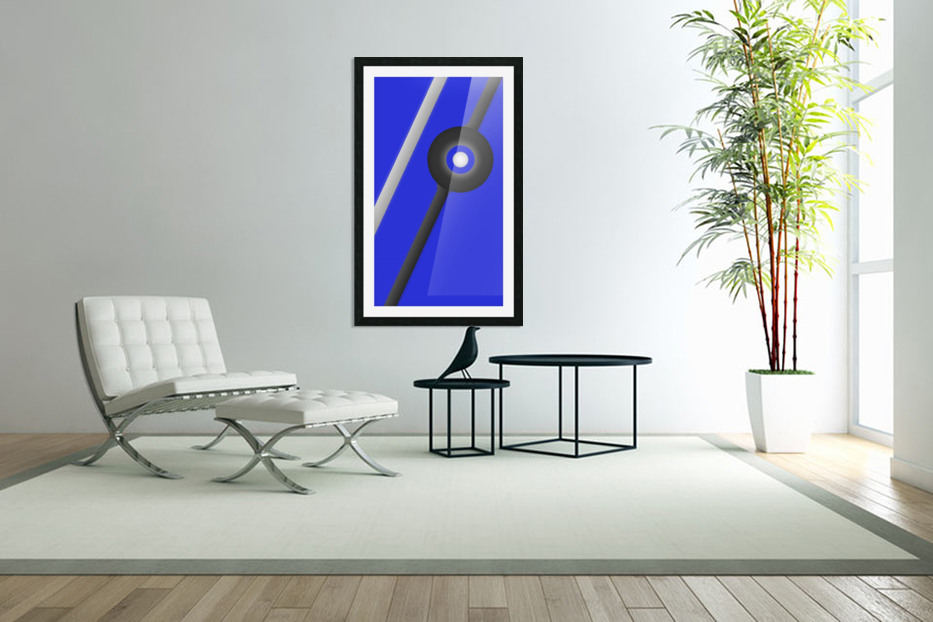 Unknown Planet  in Custom Picture Frame