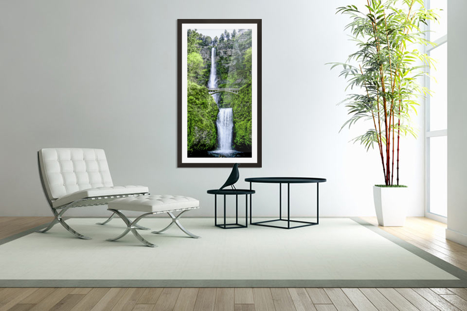 I Dreamed of Waterfalls in Custom Picture Frame