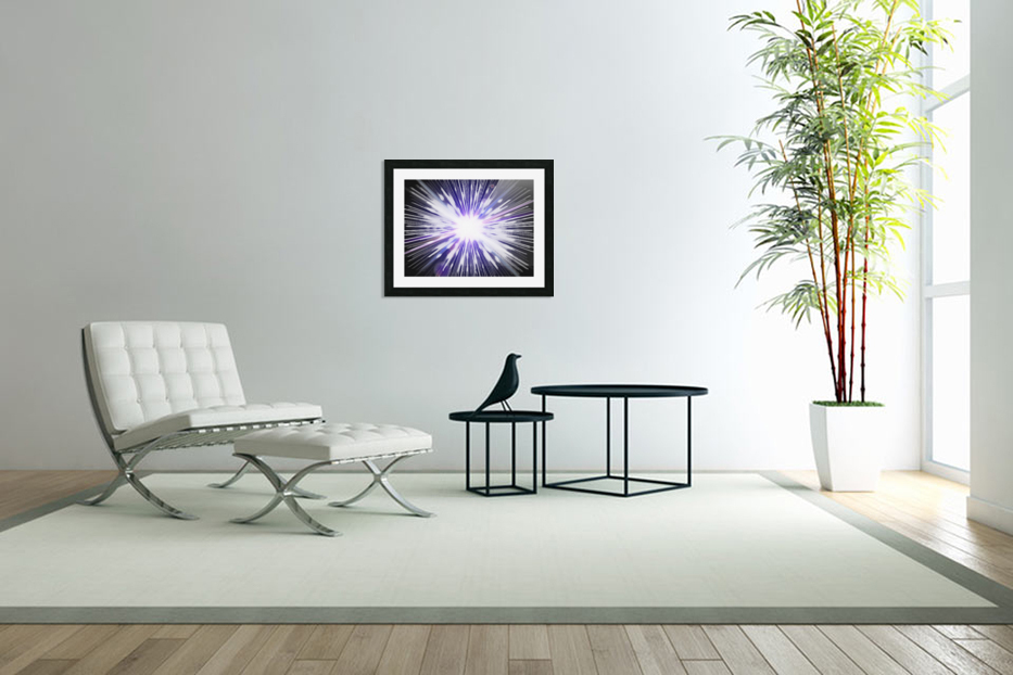 Speed of light in Custom Picture Frame