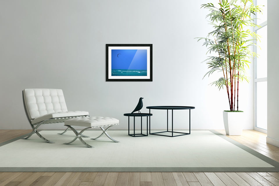 Wind Surf Hawaii in Custom Picture Frame