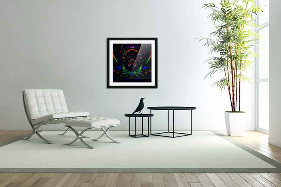 Abstract   in Custom Picture Frame