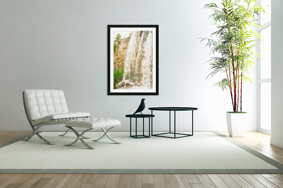 Rocky Mountain Rapids and Waterfalls 3 of 8 in Custom Picture Frame