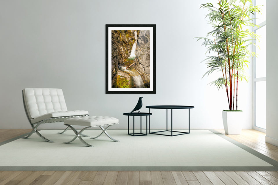 Cascading Falls in Custom Picture Frame