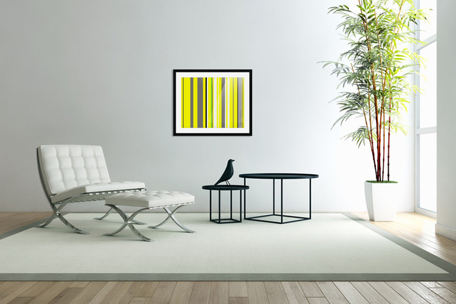 Color Bars 3 in Custom Picture Frame