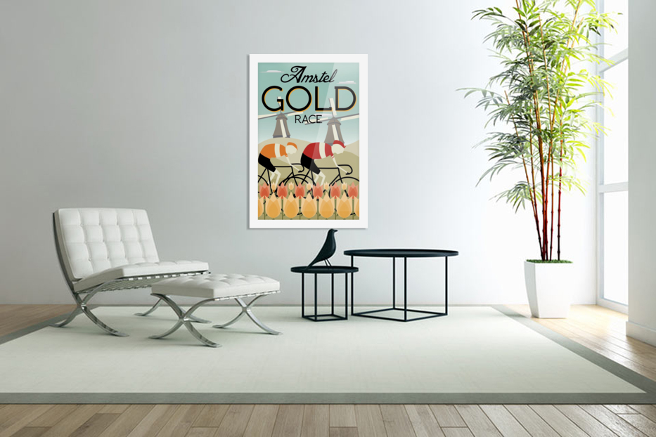 Amstel Gold Race in Custom Picture Frame