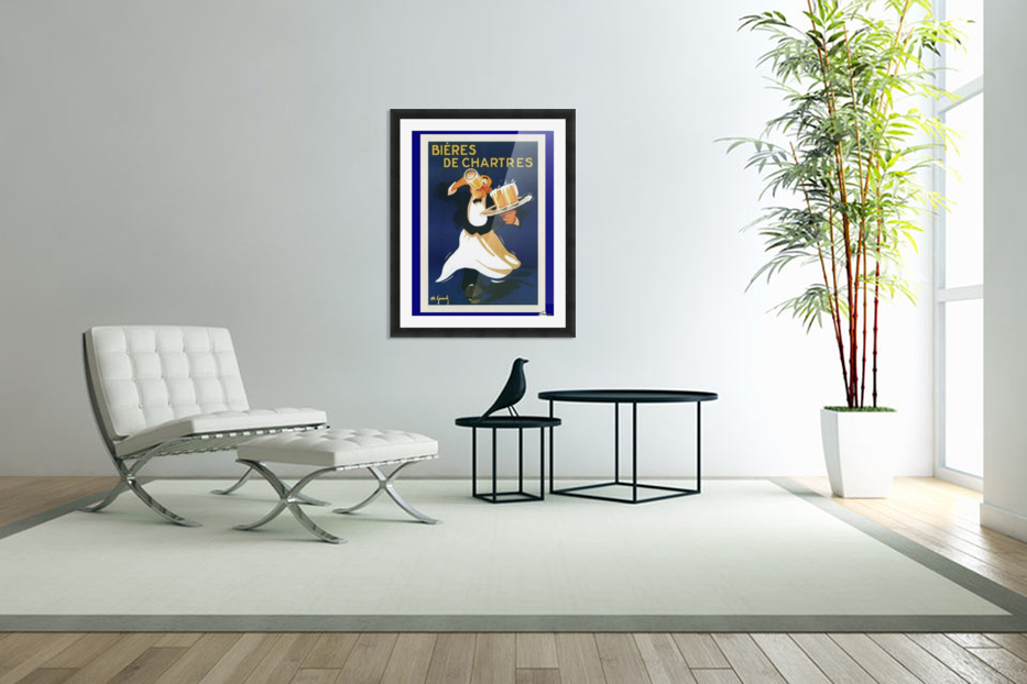Bieres de Chartes in Custom Picture Frame