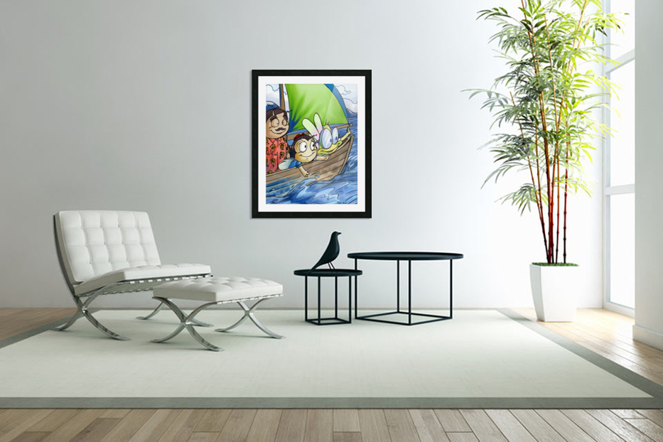 Sail Away with Us in Custom Picture Frame