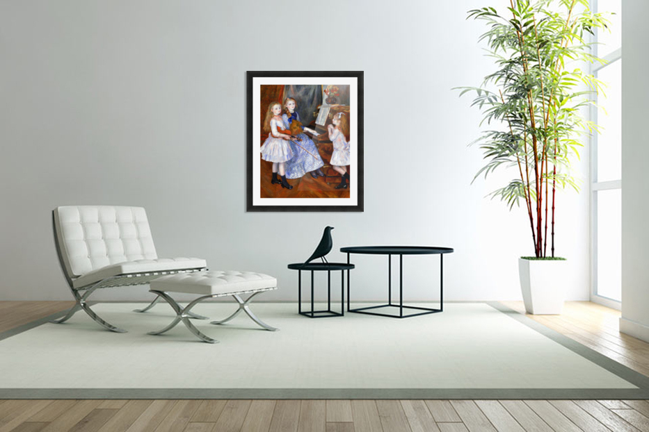 The daughters of Catulle Mendes in Custom Picture Frame