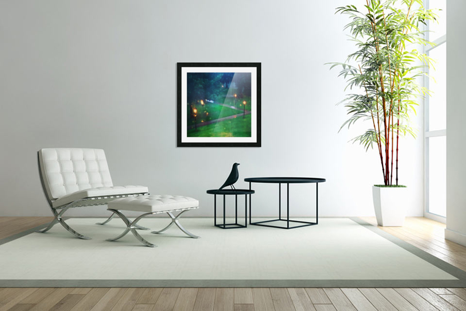 rainy summer afternoon in Custom Picture Frame