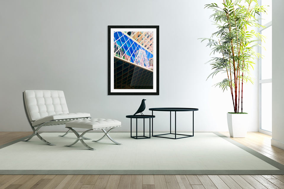 seattle downtown in Custom Picture Frame