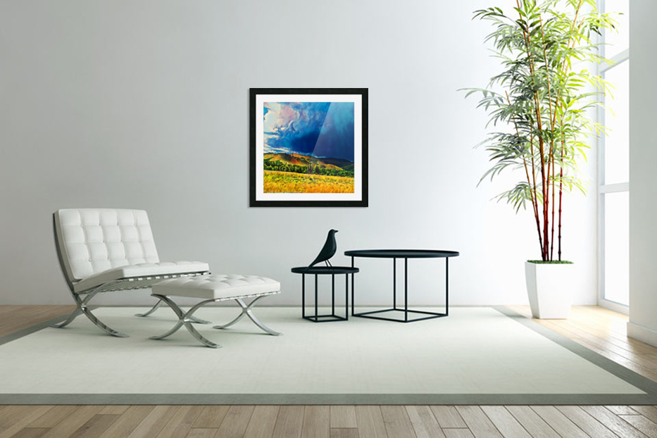 impending storm in Custom Picture Frame