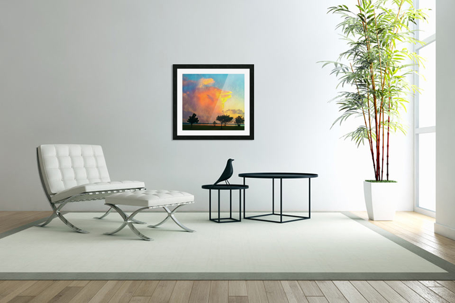 thunder cloud in Custom Picture Frame