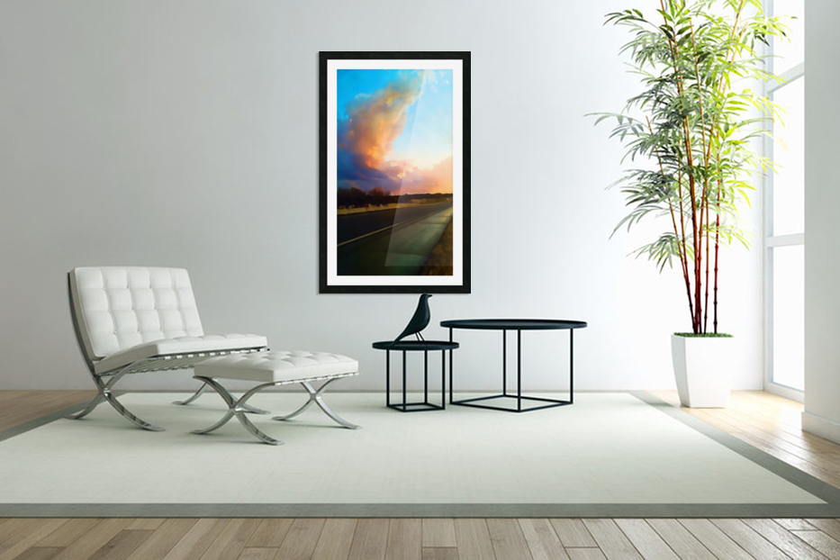highway beauty in Custom Picture Frame