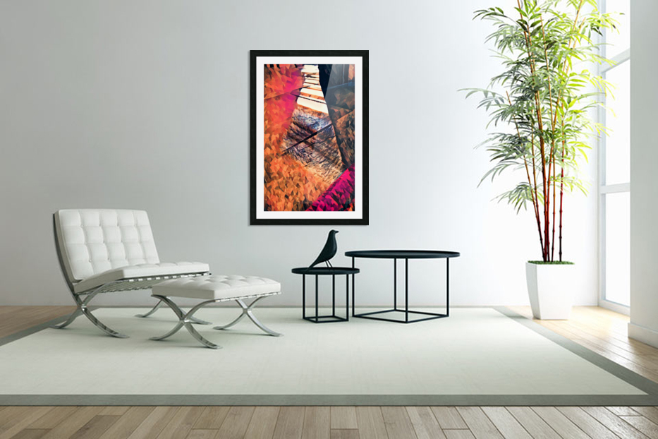 kitchen tiles morning greeting in Custom Picture Frame