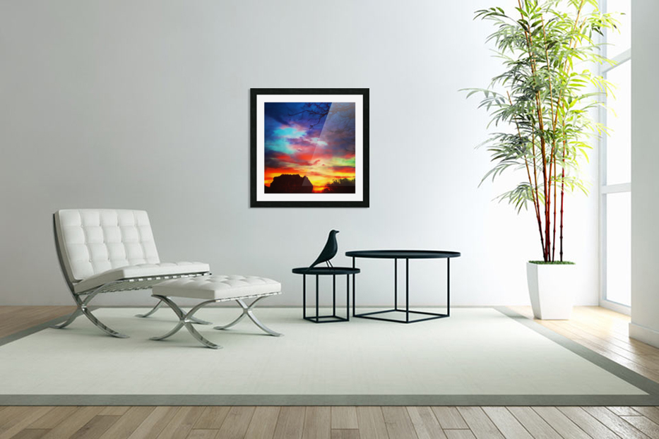 Bounty of Color in Custom Picture Frame