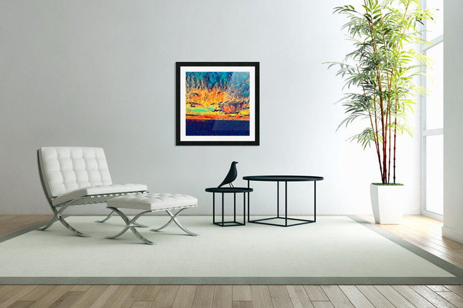 sky wires in Custom Picture Frame