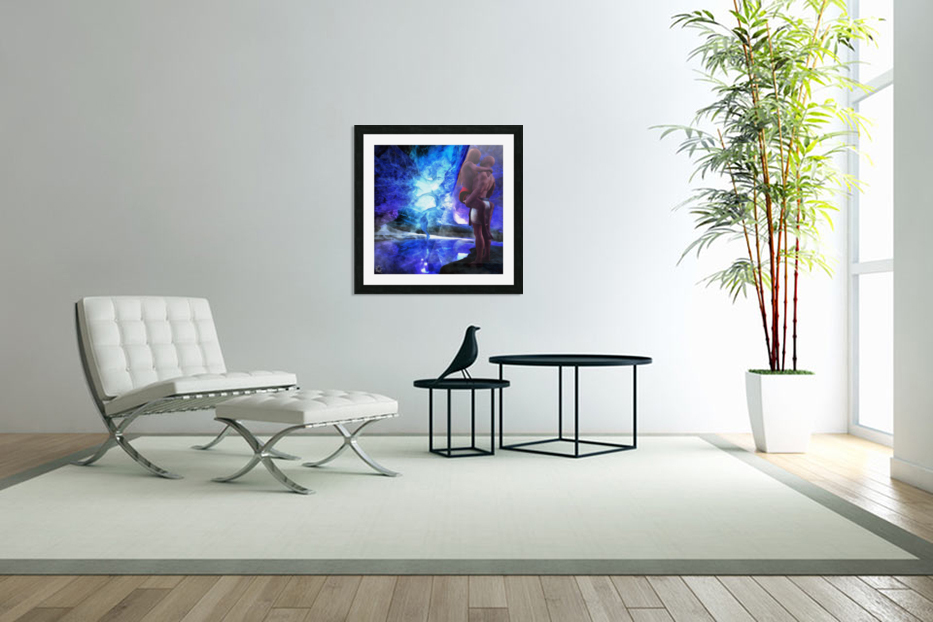The Lovers Pool in Custom Picture Frame