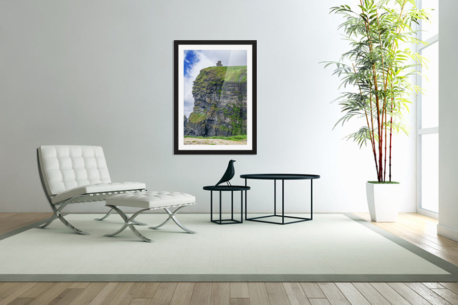 Cliffs Of Moher 2 in Custom Picture Frame