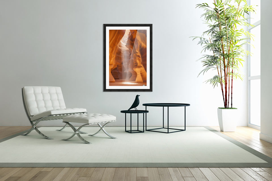 Beautiful Antelope Canyon in Custom Picture Frame